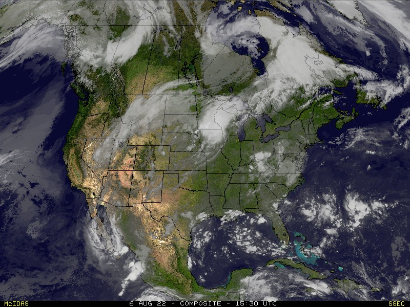 Composite U.S. Satellite Image