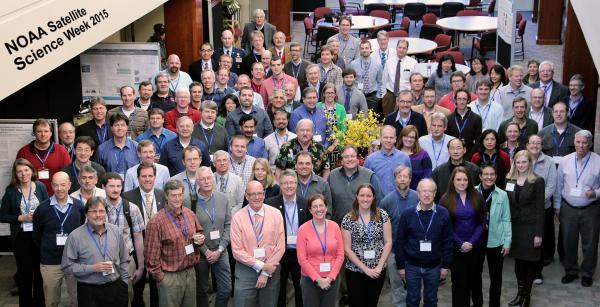 2015 NOAA Satellite Science Week group photo