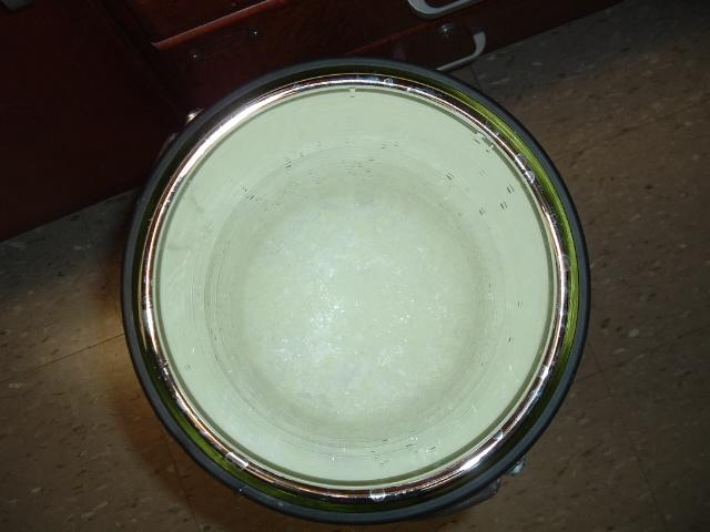 Ice dewar without blackbody