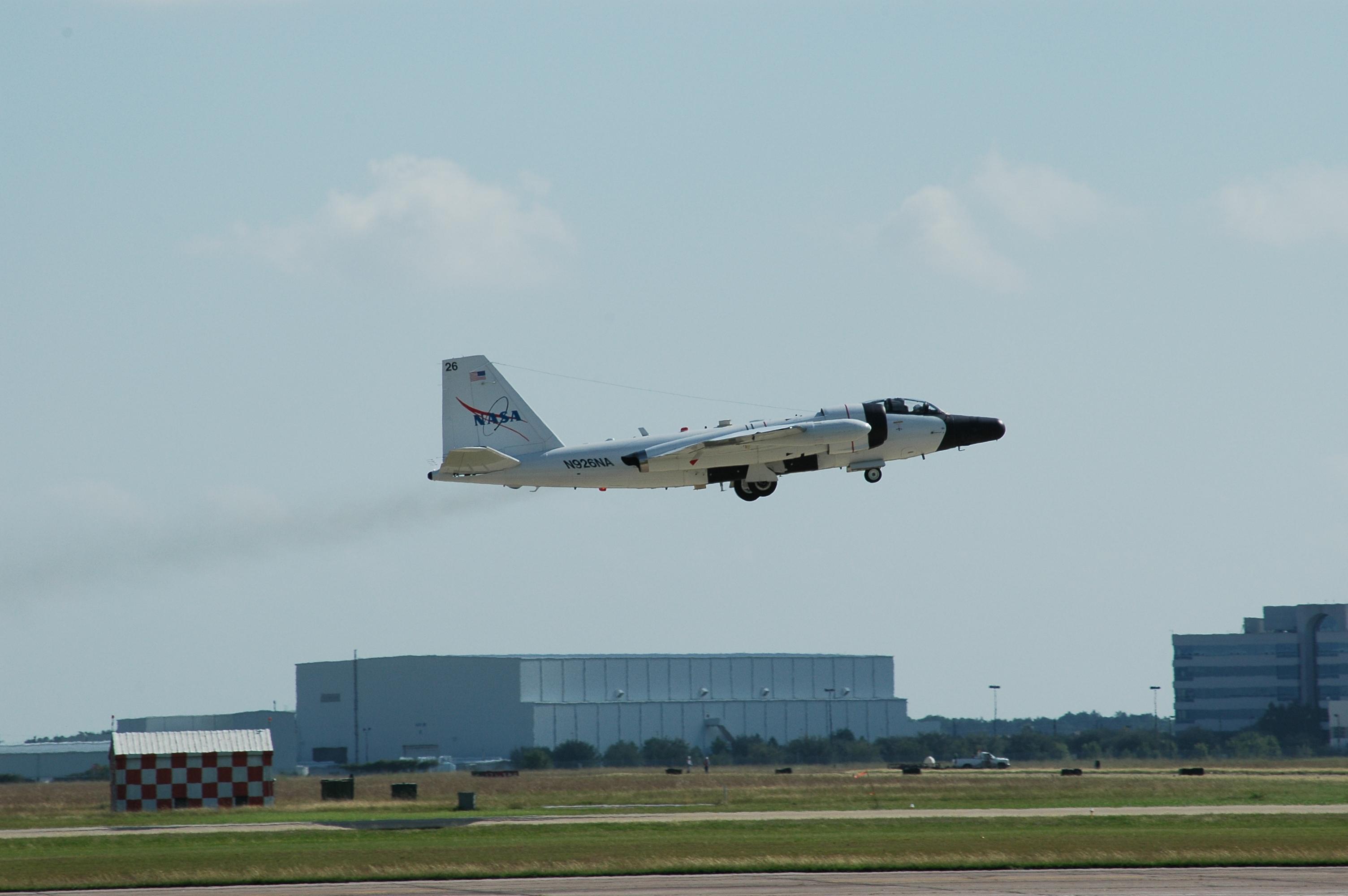 0001 WB57 926 Takeoff