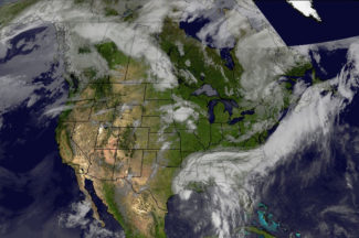 Images And Data SSEC - World wide satellite weather map